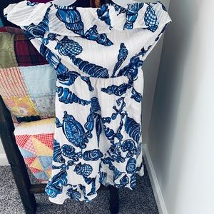 Strapless Lily Pulitzer dress. Worn once.